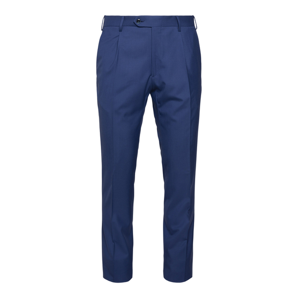 Blue trousers with crease                                                                                                                             Lubiam 8312 back