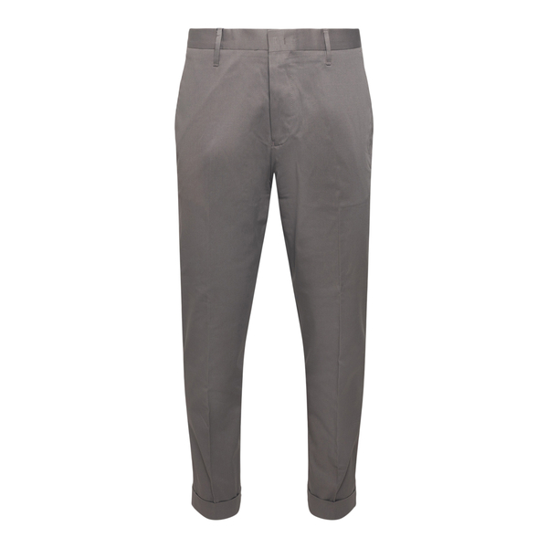 Straight leg grey trousers with pockets                                                                                                               Emporio Armani 8N1PN6 back