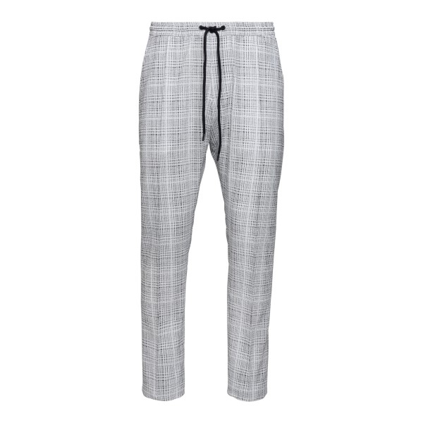 Grey checked trousers                                                                                                                                 Emporio Armani A1P890 back