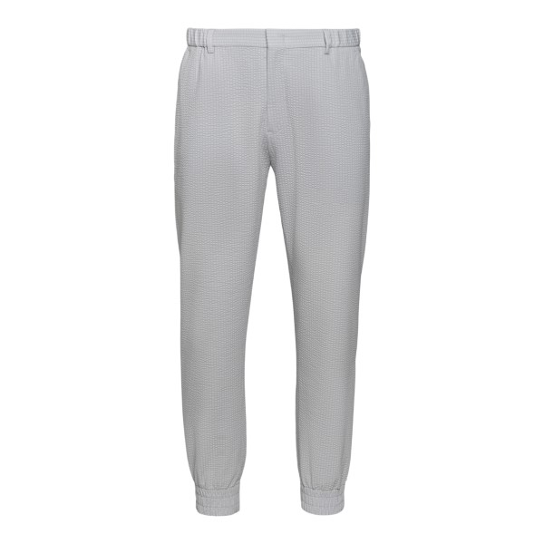 Grey trousers with cuffs at the ankles                                                                                                                Emporio Armani A1P960 back