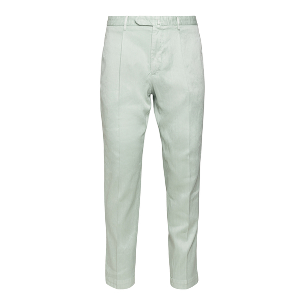 Light green trousers with faded effect                                                                                                                Santaniello ARECHI back