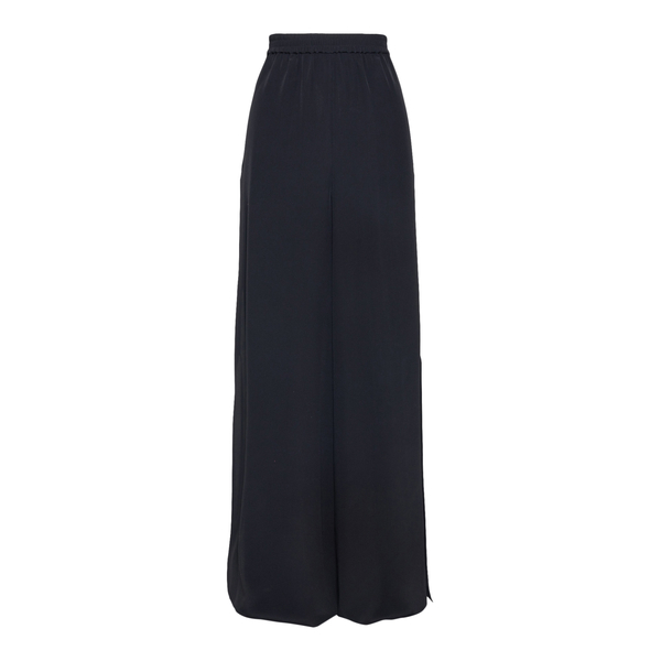 Wide black trousers with beads                                                                                                                        Max Mara BOHEME back