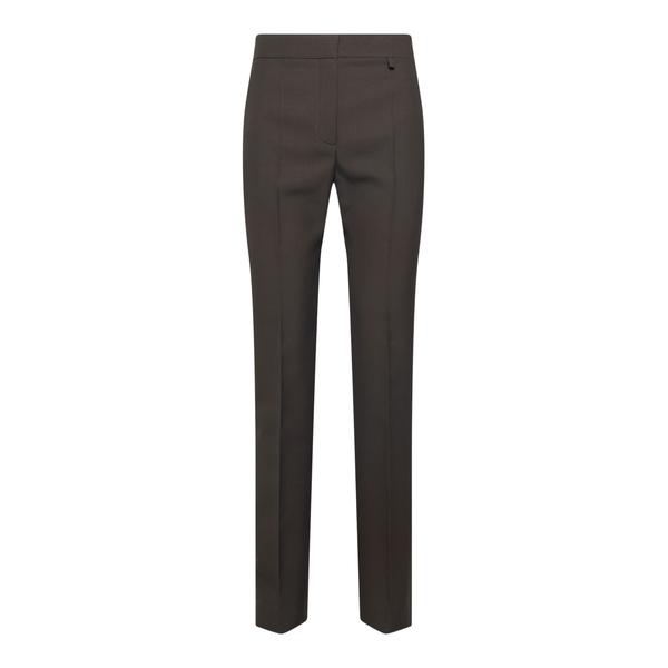 Dress pants in dark brown                                                                                                                             Givenchy BW50PH back