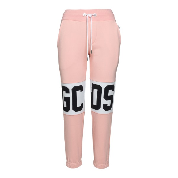 Pink track pants with logo                                                                                                                            Gcds CC94W031001 back