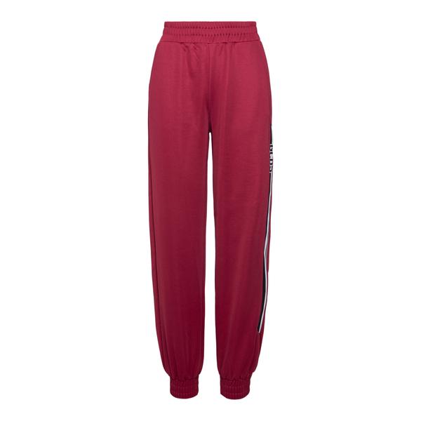Cherry track pants with logo                                                                                                                          Gcds CC94W031050 back