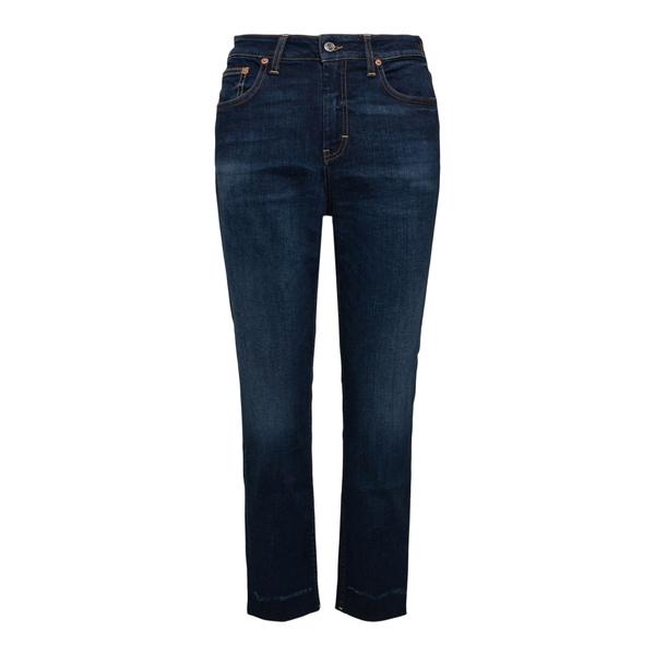 Jeans crop in blu scuro                                                                                                                               Department 5 DP59143 retro