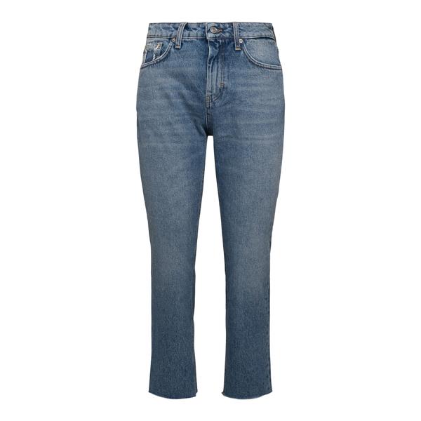 Jeans crop in blu chiaro                                                                                                                              Department 5 DP59143 retro