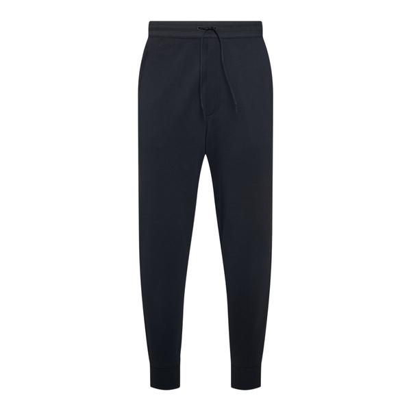 Pantaloni sportivi neri con logo                                                                                                                      Y3 FN3385 back