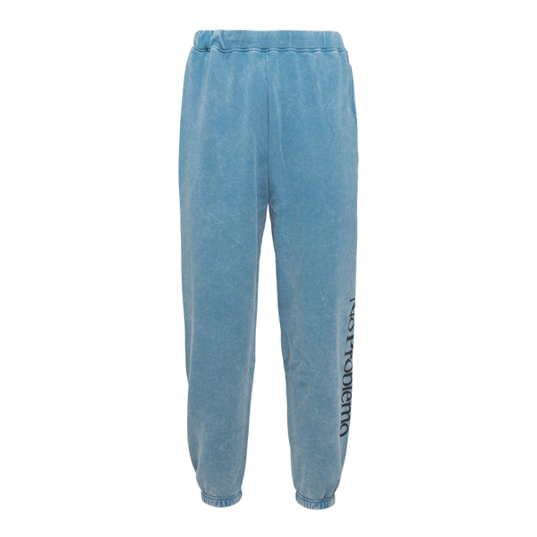 Light blue sports trousers with print                                                                                                                 Aries FSAR30002 back