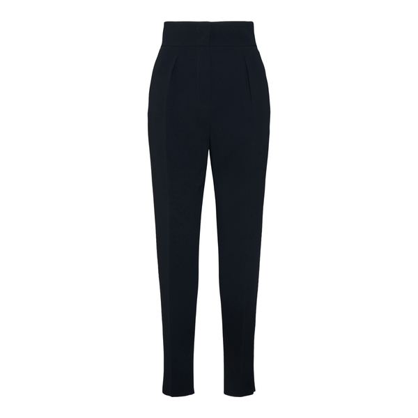 Black trousers with woven detail                                                                                                                      Max Mara Studio GALENA back