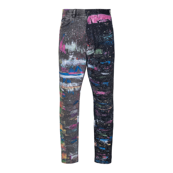 Black pants with paint stains                                                                                                                         Dolce&gabbana GW87XD back