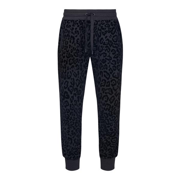 Leopard print jogging trousers                                                                                                                        Dolce&gabbana GWJYAZ back