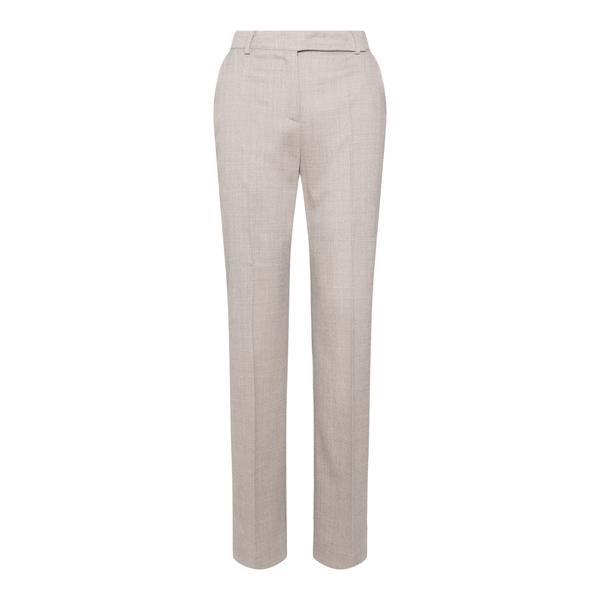 Pantalone dritto in misto lino                                                                                                                        Hebe Studio H213_LVPN_FLN retro