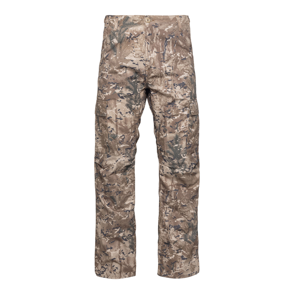 Brown trousers with camouflage print                                                                                                                  Carhartt I00957832 back