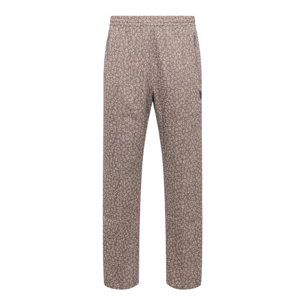 Straight patterned trousers                                                                                                                           Needles JO220 back