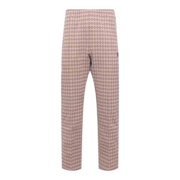 Patterned jogging trousers                                                                                                                            Needles JO220 back