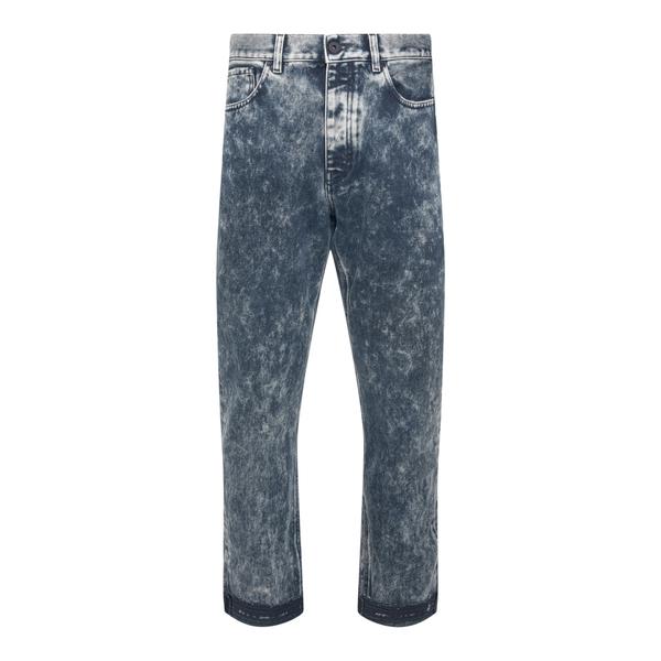 Jeans blu in denim effetto sbiadito                                                                                                                   Pence MANCIO retro