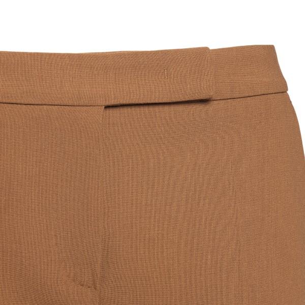 Straight brown pants                                                                                                                                   MAX MARA
