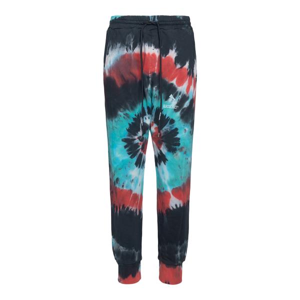 Pantaloni multicolore effetto tie-dye                                                                                                                 Mauna Kea MKS227 retro