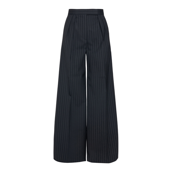 Flared black striped trousers                                                                                                                         Max Mara ORSOLA back