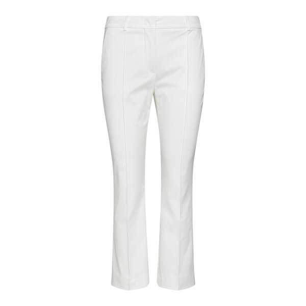 White cropped trousers                                                                                                                                Sportmax OSANNA back
