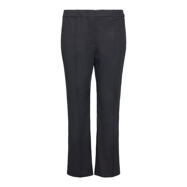 Black cropped trousers                                                                                                                                Sportmax OSANNA back
