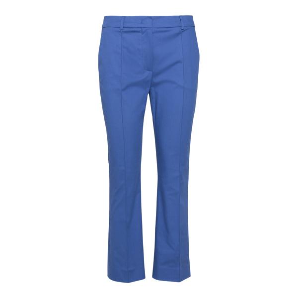 Blue flared trousers                                                                                                                                  Sportmax OSANNA back