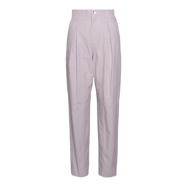 Lilac wide leg trousers                                                                                                                               Isabel Marant PA1900 back