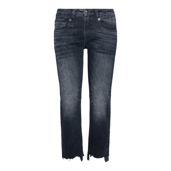Grey cropped jeans                                                                                                                                    R13 R13W0091 back