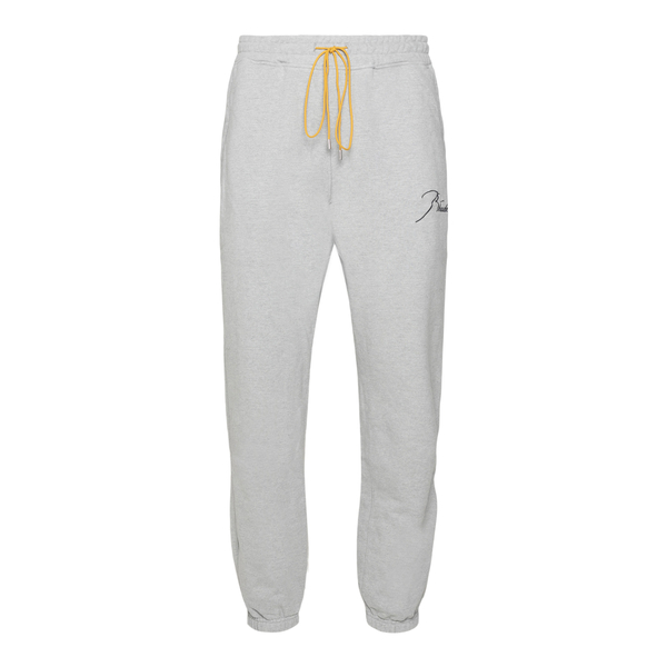 Jogging trousers with drawstring                                                                                                                      Rhude RHFW21PA15012497 back