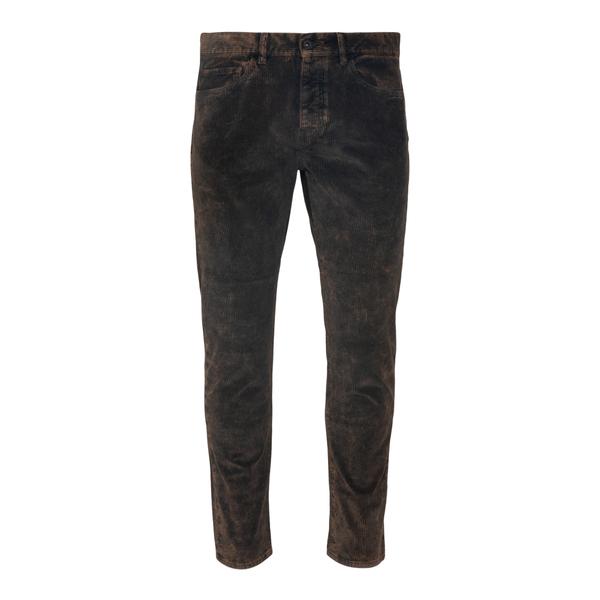 Brown velvet trousers                                                                                                                                 Pence RICO back