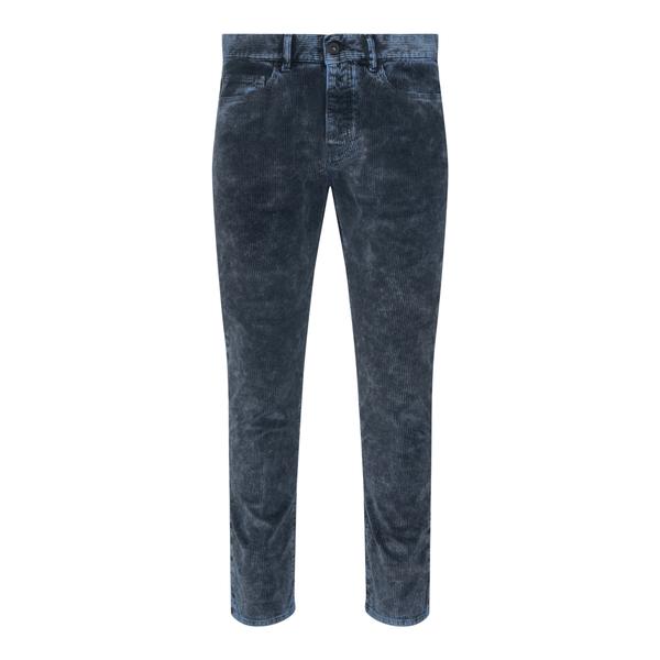 Blue velvet trousers                                                                                                                                  Pence RICO back