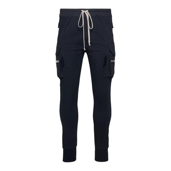 Pantaloni skinny neri con tasche laterali                                                                                                             Rick Owens RU02A5396 retro