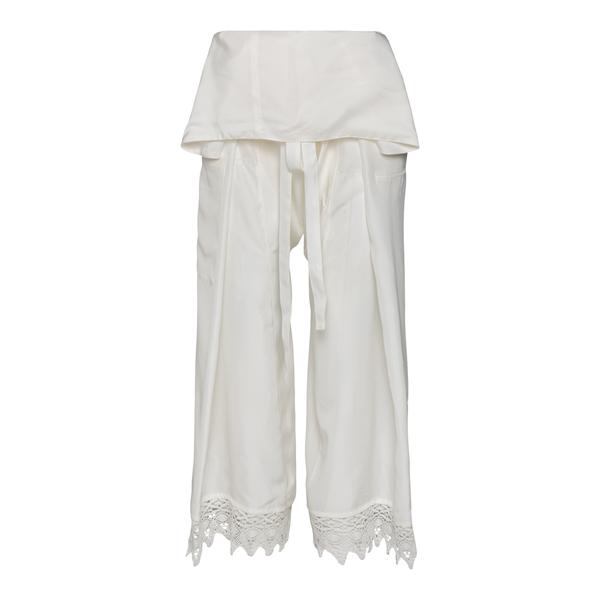 White high-waisted trousers                                                                                                                           Loewe Paula's Ibiza S616Y04X17 back