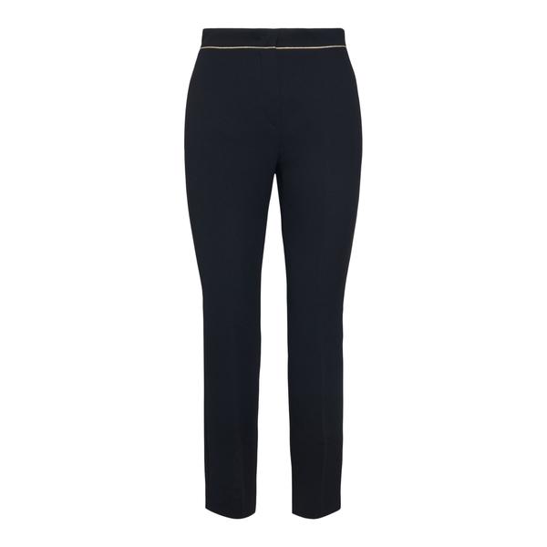Black slim trousers with gold line                                                                                                                    Max Mara STELLA back