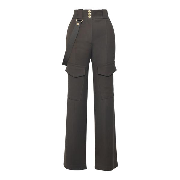 Pantaloni svasati in verde militare                                                                                                                   Seafarer SWP0015TWS0002000 retro