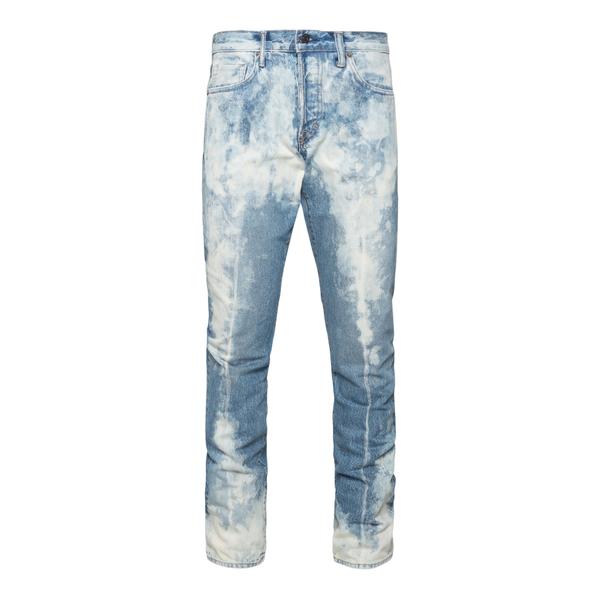 Jeans blu in effetto sbiadito                                                                                                                         Tom Ford TFD001 retro