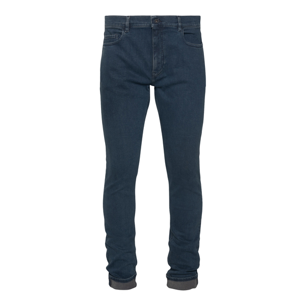 Jeans skinny blu con patch logo                                                                                                                       Pence TOSCOL retro