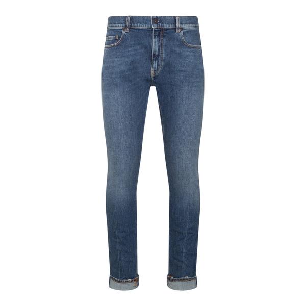 Jeans aderenti blu                                                                                                                                    Pence TOSCOL retro