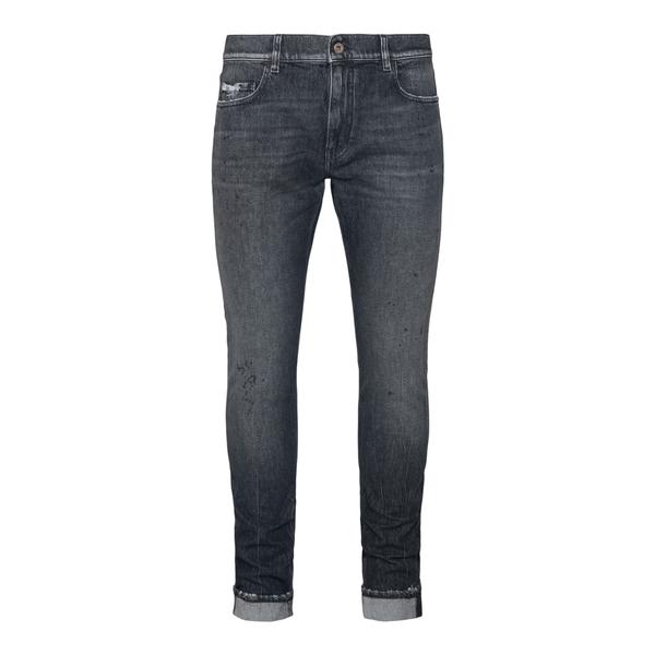 Jeans skinny in grigio scuro                                                                                                                          Pence TOSCOL retro