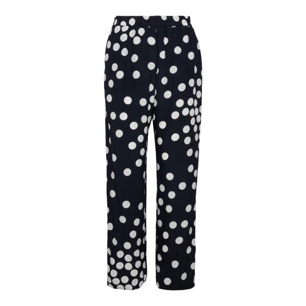 Black polka dot pants                                                                                                                                 Valentino VB3RB435 back