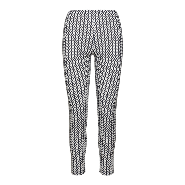 Two-tone leggings with logo pattern                                                                                                                   Valentino WB3MD03B back