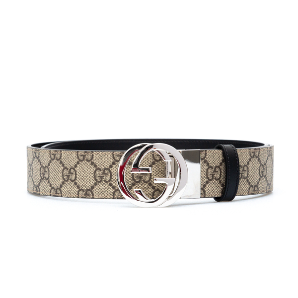 Beige belt with logo pattern                                                                                                                          Gucci 473030 back