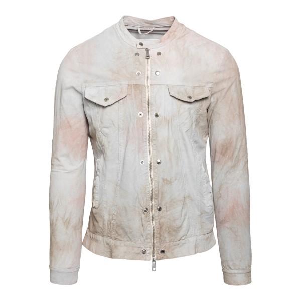 Light grey tie-dye jacket                                                                                                                             Brato GU21S9894 front