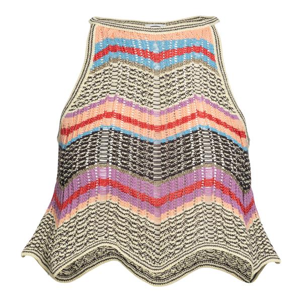 Top in maglia multicolore                                                                                                                             M Missoni 2DK00093 retro