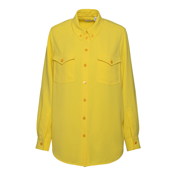 Yellow shirt with pockets                                                                                                                             Burberry 8046836 back