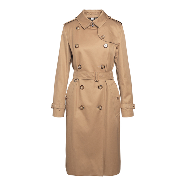 Classic trench coat in beige color                                                                                                                    Burberry 8041099 back
