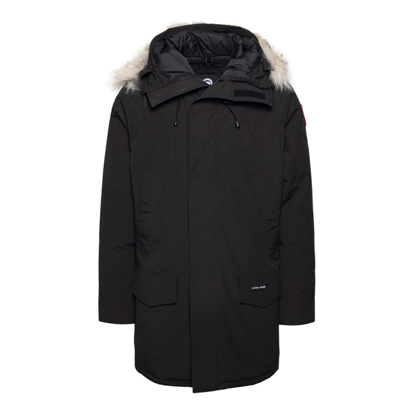 Black parka with logo patch                                                                                                                           Canada Goose CG2062M35 back