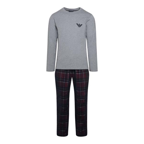 Pajamas with T-shirt and pants                                                                                                                        Emporio Armani 111955 back