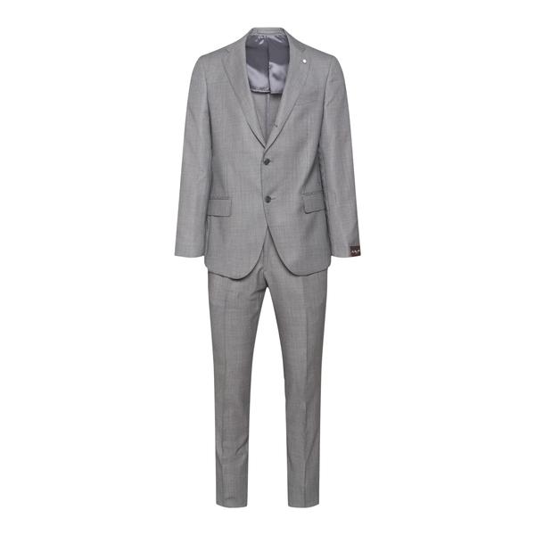 Elegant suit in grey                                                                                                                                  Lubiam 3355 back